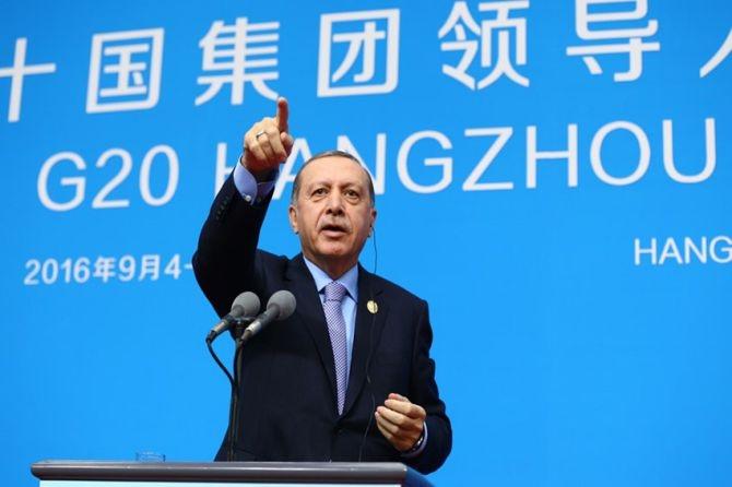 Cumhurbaşkanı Erdoğan Çin'de önemli mesajlar verdi galerisi resim 12