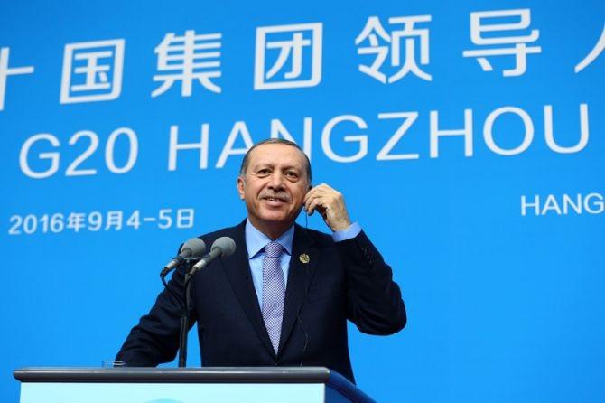 Cumhurbaşkanı Erdoğan Çin'de önemli mesajlar verdi galerisi resim 13