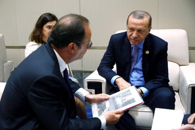 Cumhurbaşkanı Erdoğan Çin'de önemli mesajlar verdi galerisi resim 19