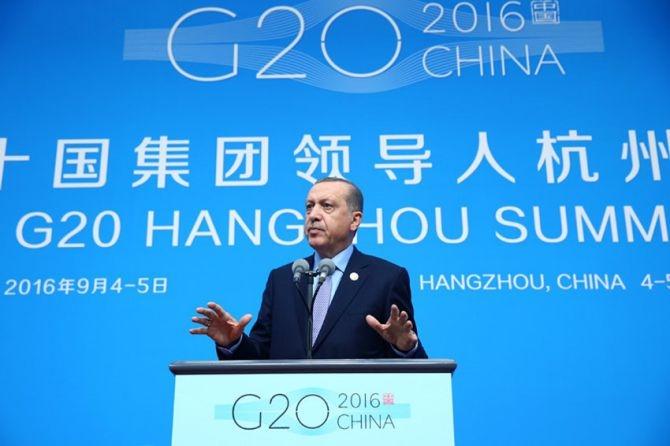 Cumhurbaşkanı Erdoğan Çin'de önemli mesajlar verdi galerisi resim 2