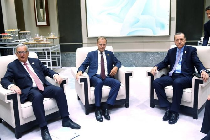 Cumhurbaşkanı Erdoğan Çin'de önemli mesajlar verdi galerisi resim 21