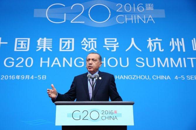 Cumhurbaşkanı Erdoğan Çin'de önemli mesajlar verdi galerisi resim 3
