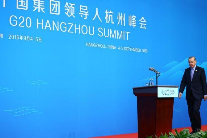 Cumhurbaşkanı Erdoğan Çin'de önemli mesajlar verdi galerisi resim 4