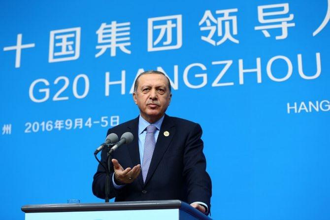 Cumhurbaşkanı Erdoğan Çin'de önemli mesajlar verdi galerisi resim 6