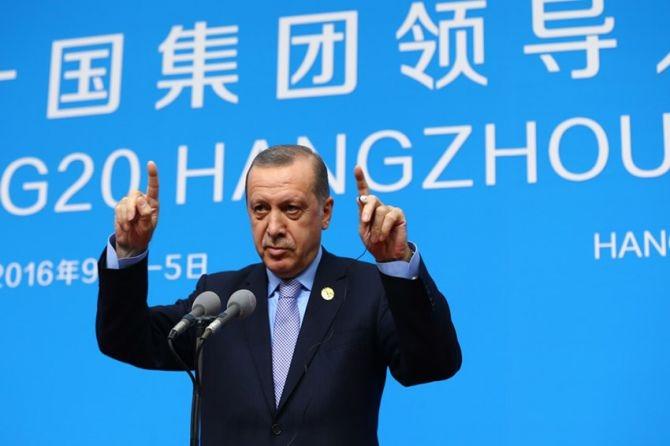 Cumhurbaşkanı Erdoğan Çin'de önemli mesajlar verdi galerisi resim 7