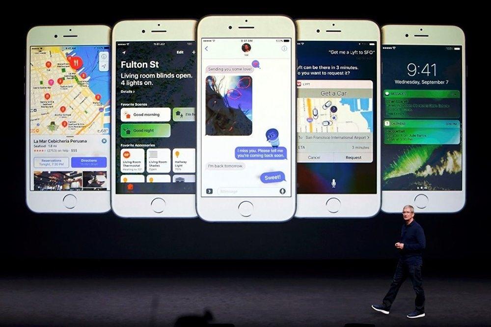 Apple iPhone 7'yi tanıttı galerisi resim 2