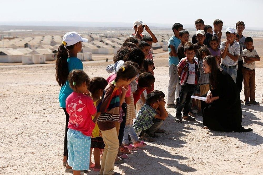Ünlü oyuncu, Angelina Jolie'den Suriye çağrısı galerisi resim 2