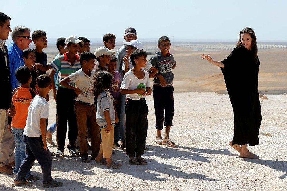 Ünlü oyuncu, Angelina Jolie'den Suriye çağrısı galerisi resim 4