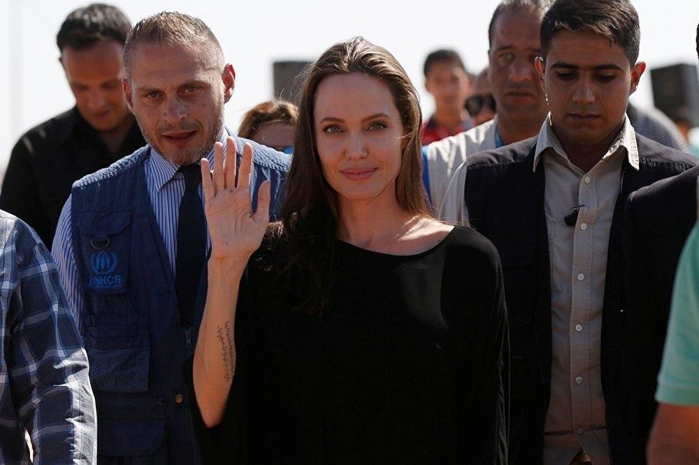 Ünlü oyuncu, Angelina Jolie'den Suriye çağrısı galerisi resim 5