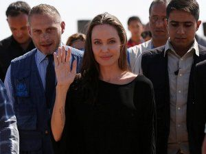 Ünlü oyuncu, Angelina Jolie'den Suriye çağrısı