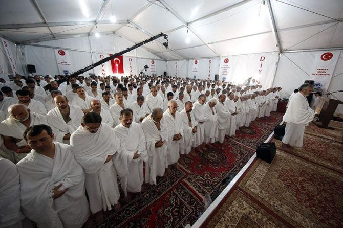 Görmez'den Arafat'ta vakfe duası galerisi resim 7