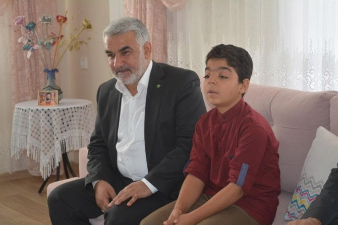 Yapıcıoğlu'ndan FETÖ ve 28 Şubat Mağduru ailelere ziyaret galerisi resim 11