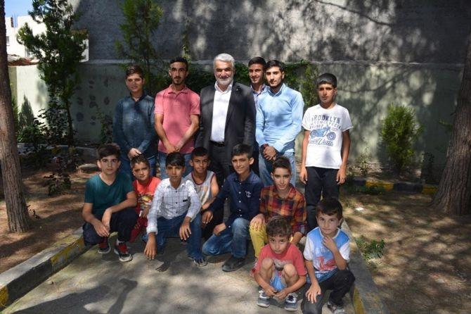 Yapıcıoğlu'ndan FETÖ ve 28 Şubat Mağduru ailelere ziyaret galerisi resim 15