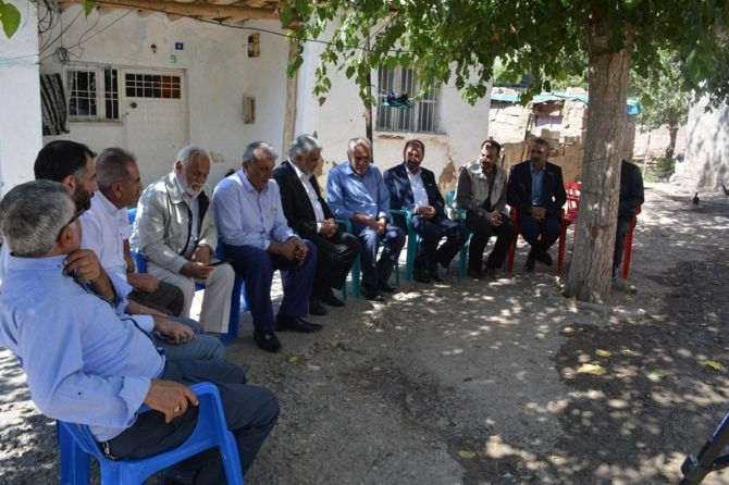 Yapıcıoğlu'ndan FETÖ ve 28 Şubat Mağduru ailelere ziyaret galerisi resim 3