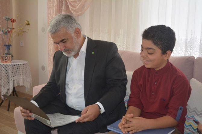 Yapıcıoğlu'ndan FETÖ ve 28 Şubat Mağduru ailelere ziyaret galerisi resim 8