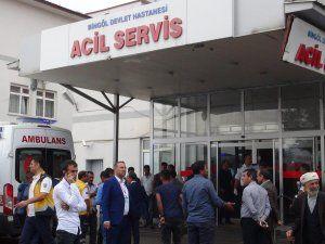 Bingöl'de trafik kazası: 4 ölü 11 yaralı