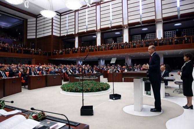 Cumhurbaşkanı Erdoğan Meclis'te konuştu! galerisi resim 11