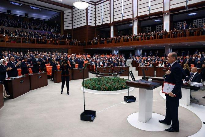 Cumhurbaşkanı Erdoğan Meclis'te konuştu! galerisi resim 12