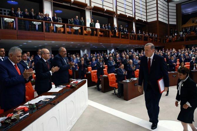 Cumhurbaşkanı Erdoğan Meclis'te konuştu! galerisi resim 6
