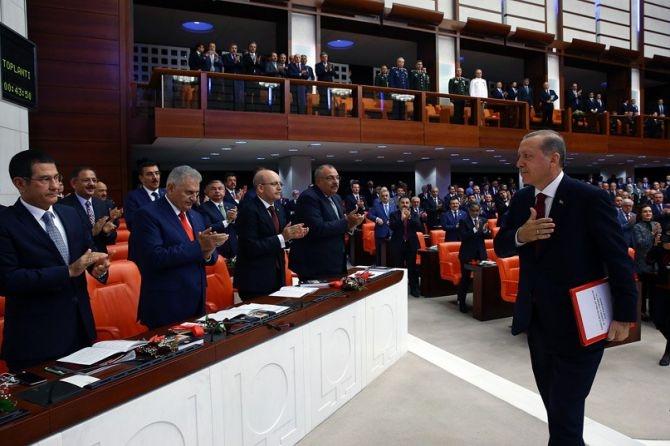 Cumhurbaşkanı Erdoğan Meclis'te konuştu! galerisi resim 7