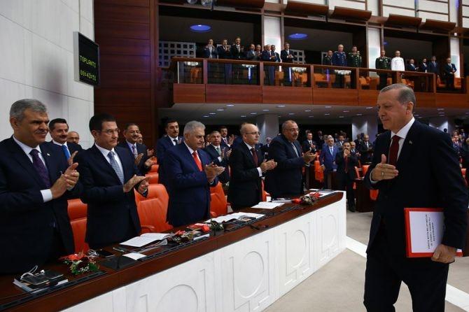 Cumhurbaşkanı Erdoğan Meclis'te konuştu! galerisi resim 8