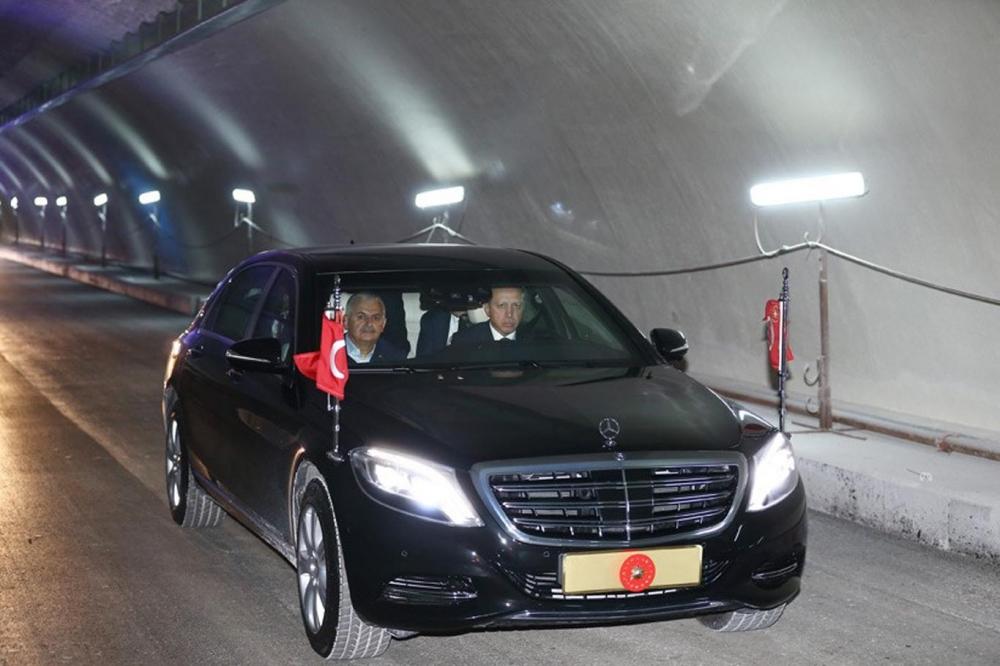 Cumhurbaşkanı Erdoğan Avrasya Tüneli'nden  geçti galerisi resim 1