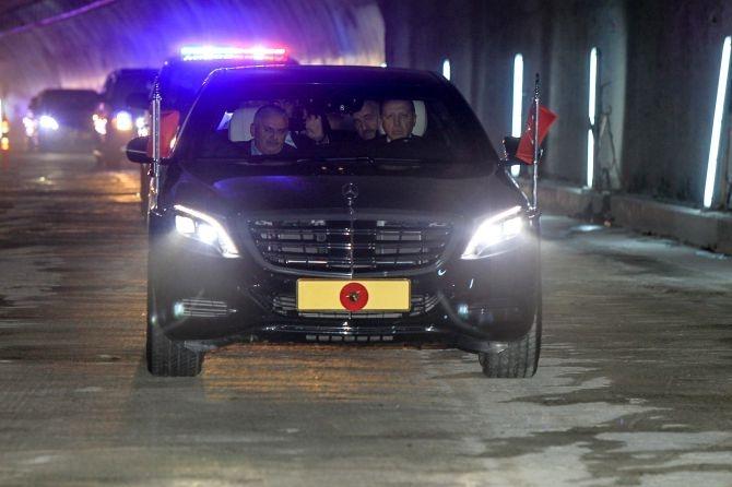 Cumhurbaşkanı Erdoğan Avrasya Tüneli'nden  geçti galerisi resim 11