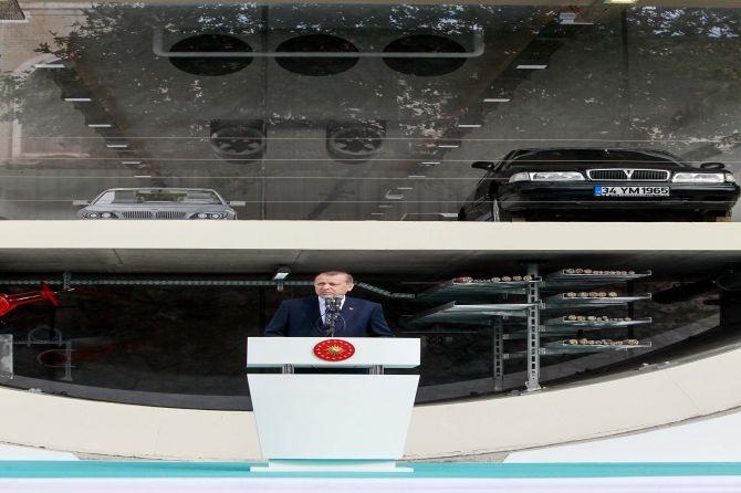 Cumhurbaşkanı Erdoğan Avrasya Tüneli'nden  geçti galerisi resim 17