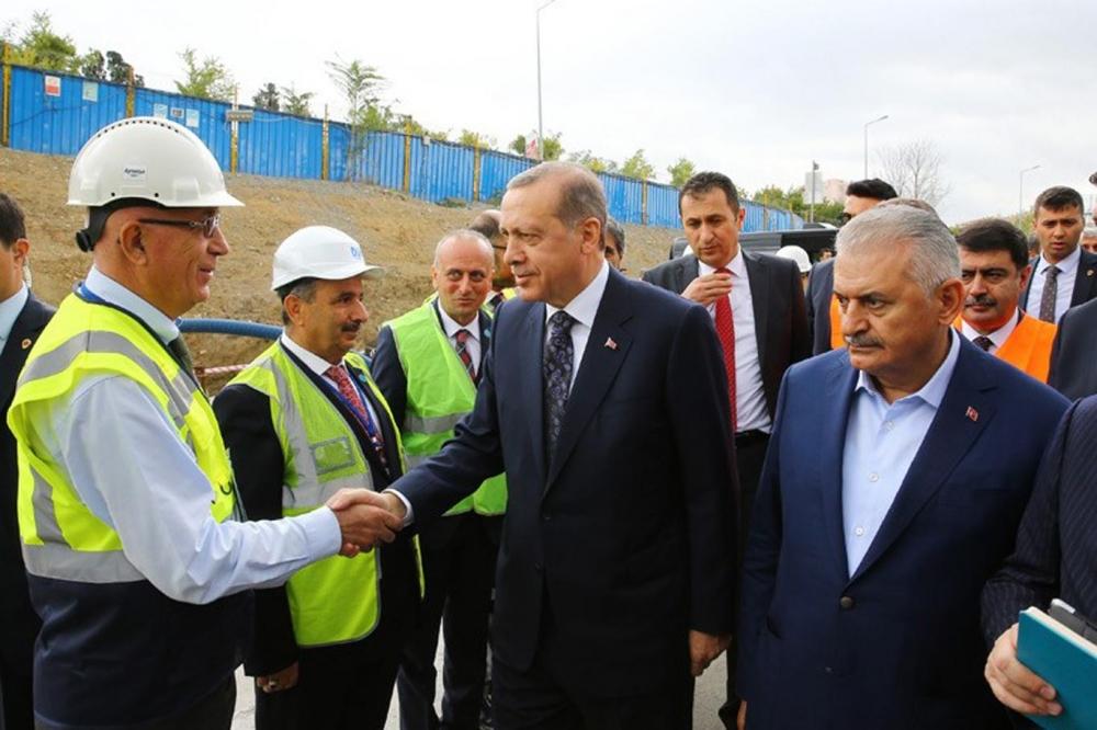 Cumhurbaşkanı Erdoğan Avrasya Tüneli'nden  geçti galerisi resim 2