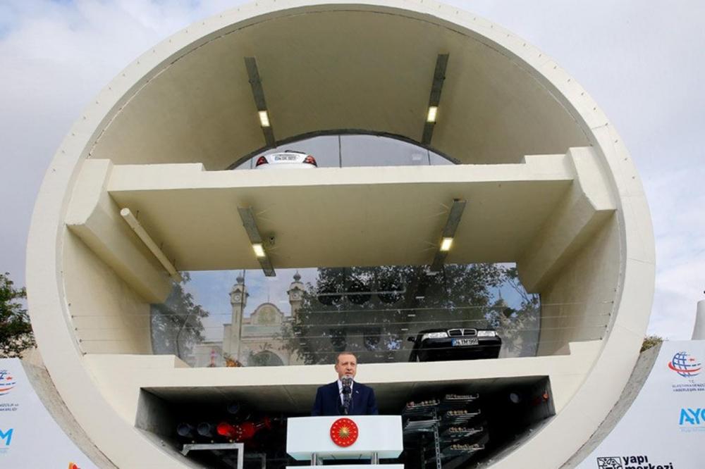 Cumhurbaşkanı Erdoğan Avrasya Tüneli'nden  geçti galerisi resim 3