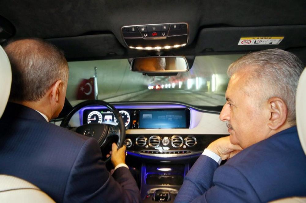Cumhurbaşkanı Erdoğan Avrasya Tüneli'nden  geçti galerisi resim 4
