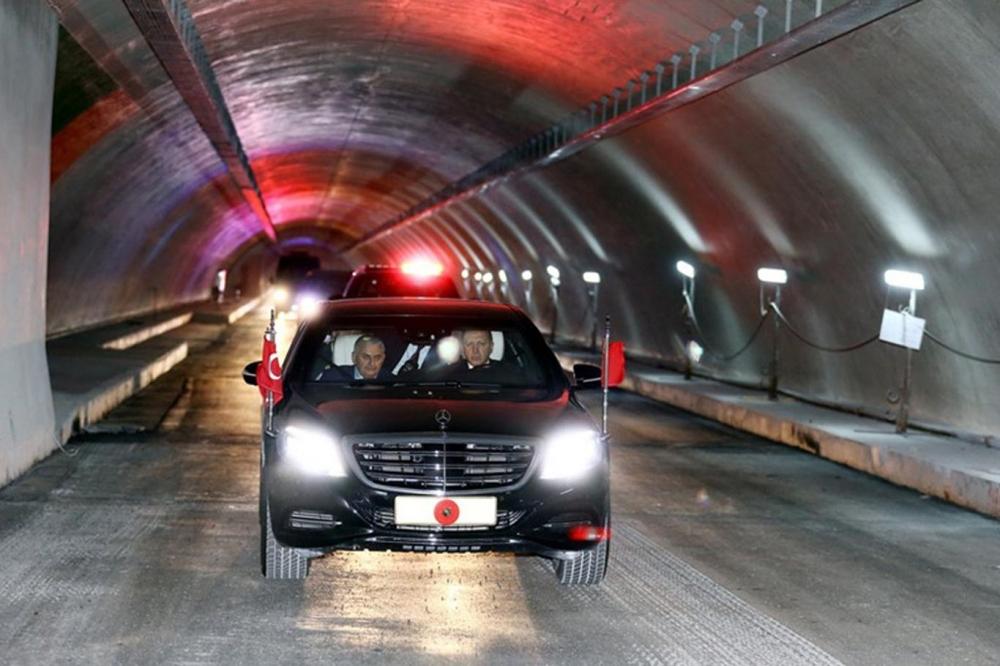 Cumhurbaşkanı Erdoğan Avrasya Tüneli'nden  geçti galerisi resim 5