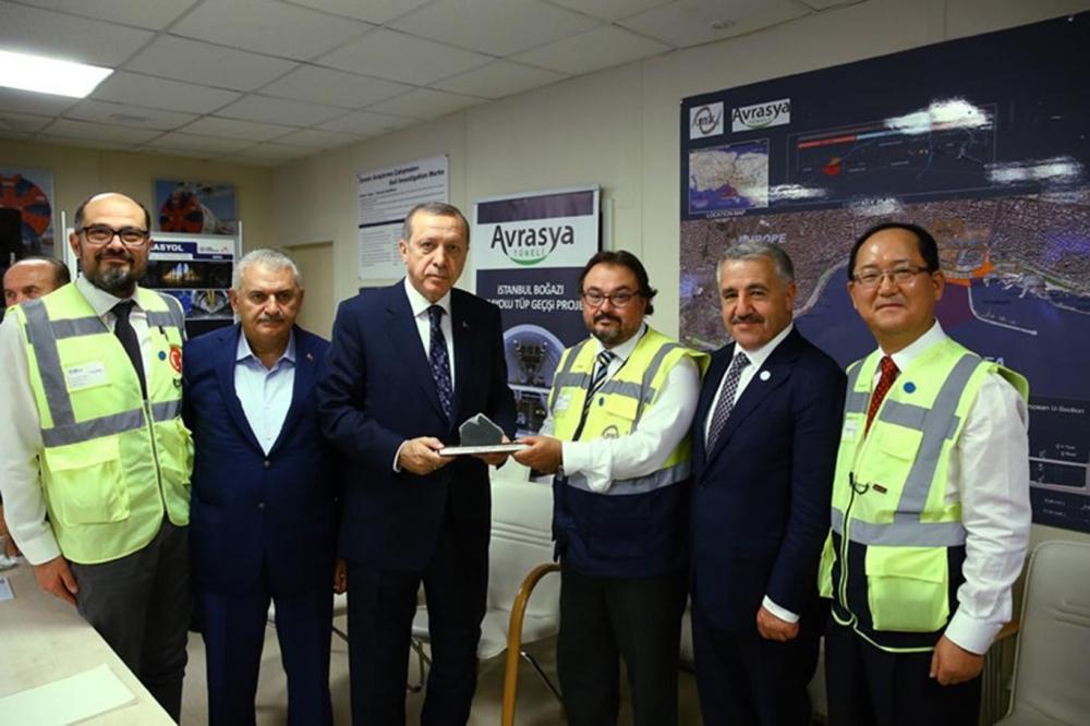 Cumhurbaşkanı Erdoğan Avrasya Tüneli'nden  geçti galerisi resim 6