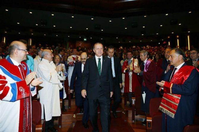 """Cumhurbaşkanı Erdoğan: """"Üniversiteleri topluma değer katan kurumlar galerisi resim 1"""