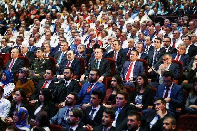 """Cumhurbaşkanı Erdoğan: """"Üniversiteleri topluma değer katan kurumlar galerisi resim 2"""
