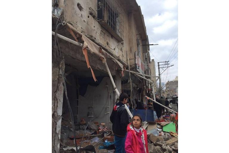 Mardin'de Polis aracına bombalı saldırı galerisi resim 10