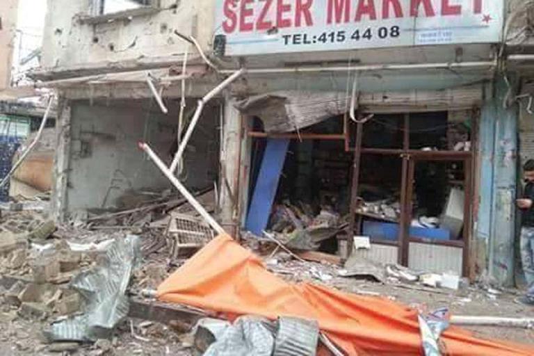 Mardin'de Polis aracına bombalı saldırı galerisi resim 11