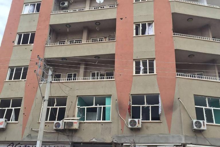 Mardin'de Polis aracına bombalı saldırı galerisi resim 12