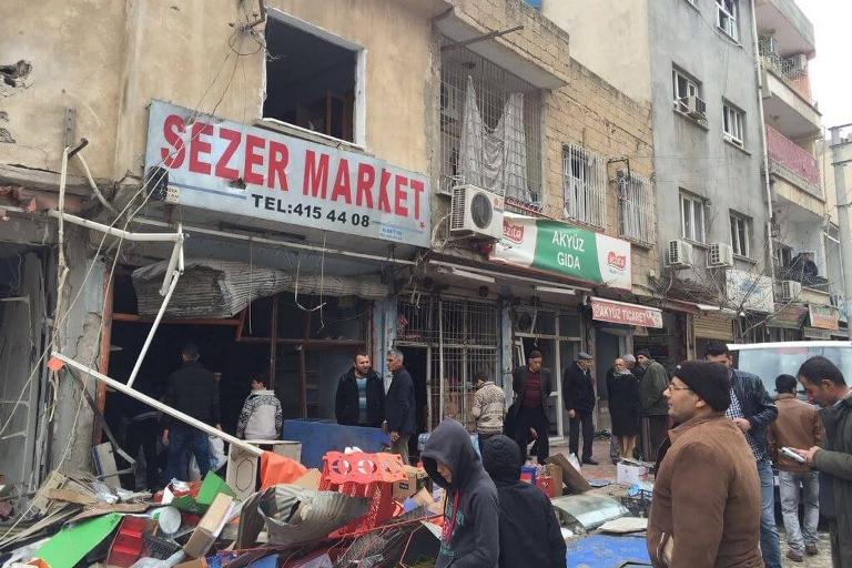Mardin'de Polis aracına bombalı saldırı galerisi resim 13