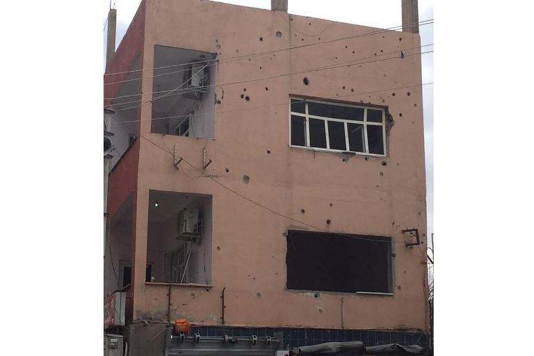 Mardin'de Polis aracına bombalı saldırı galerisi resim 3