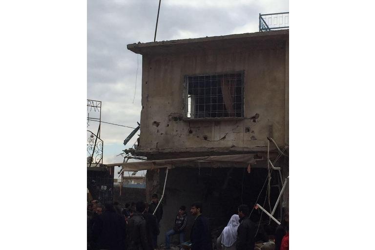 Mardin'de Polis aracına bombalı saldırı galerisi resim 4