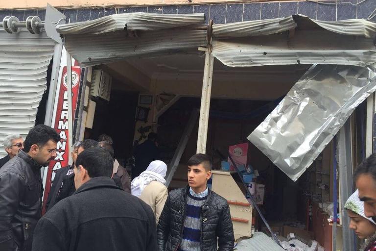 Mardin'de Polis aracına bombalı saldırı galerisi resim 6