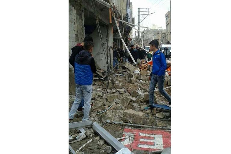 Mardin'de Polis aracına bombalı saldırı galerisi resim 8