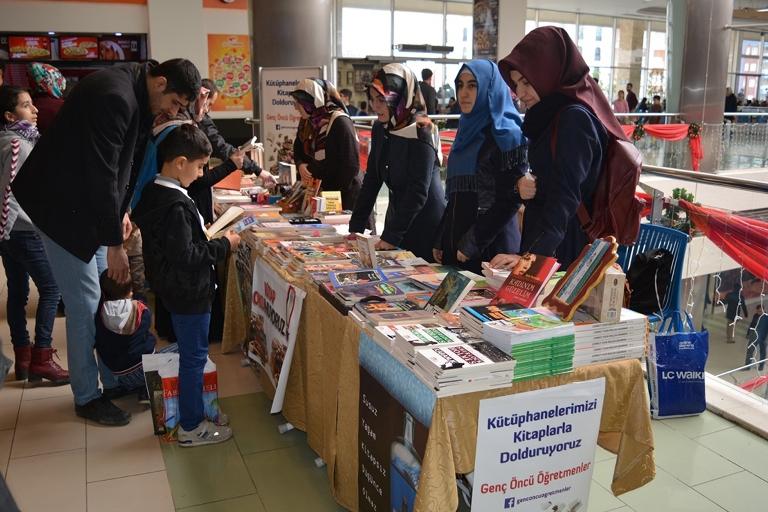 Kütüphanelerimizi Kitap'la dolduralım kampanyası galerisi resim 6