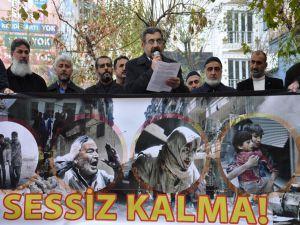 Batman'da İslami STK'lar Halep katliamı için ayakta!
