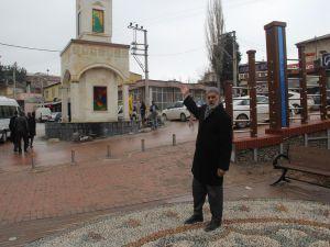 """DBP'li belediyenin """"Êzidilik""""i simgeleyen saat kulesi tep"""