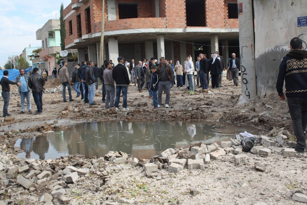 PKK, Nusaybinde 200'ü aşkın çukur kazdı galerisi resim 3