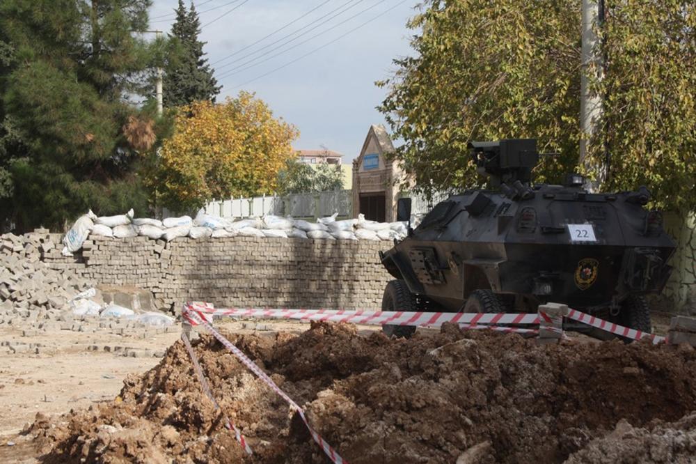 PKK, Nusaybinde 200'ü aşkın çukur kazdı galerisi resim 9