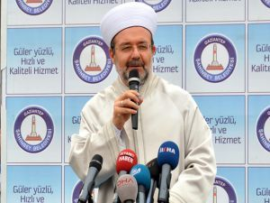 Görmez: Camiler birlik ve beraberlik mekânıdır