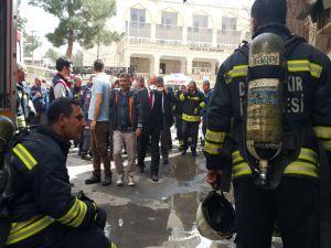Dicle Üniversitesi Hastanesi yangını kontrol altına alındı
